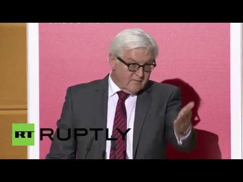 Germany: Russia only secure with, not against Europe and vice versa - Steinmeier