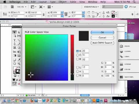InDesign CS5: Designing a magazine page (Part 1)