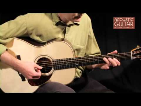 Boucher Studio Indian Goose 000-12FTB Review from Acoustic Guitar