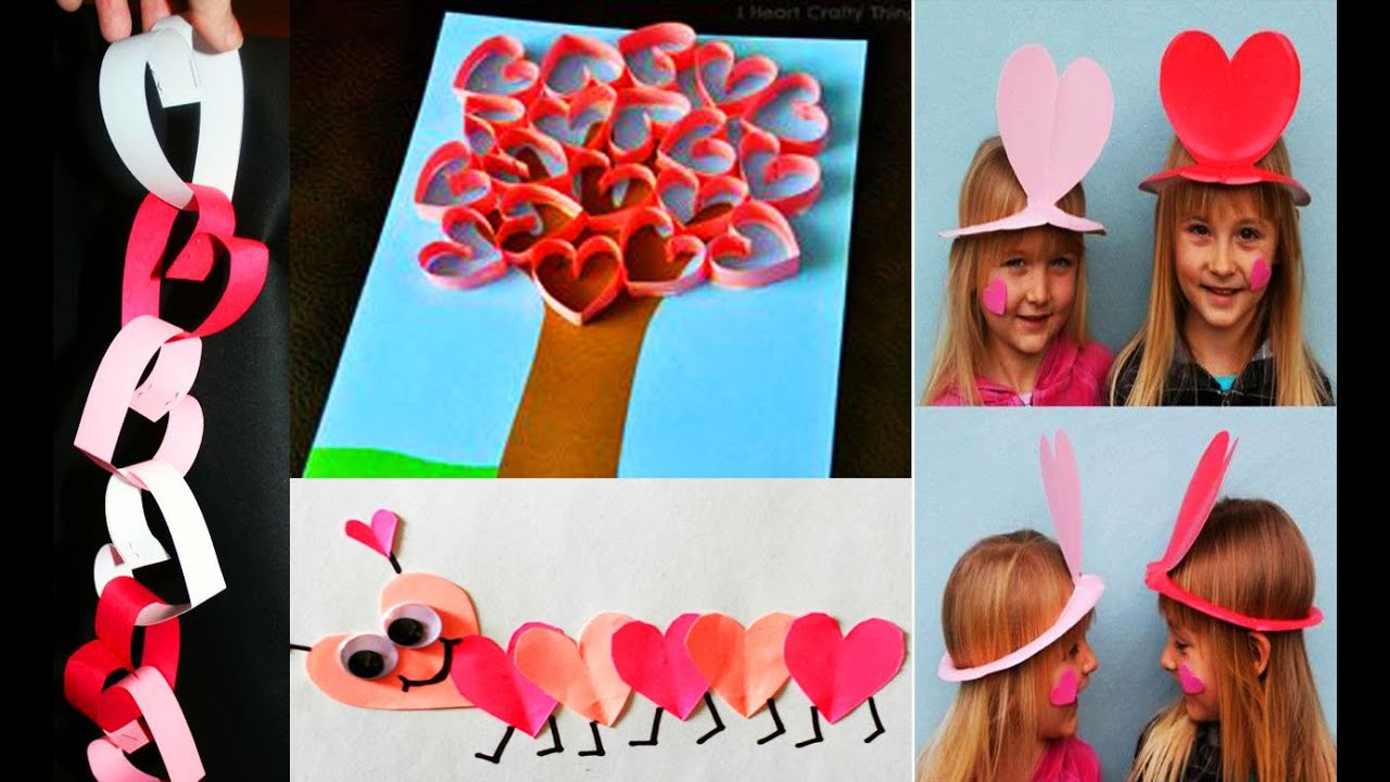 Детские поделки на 14 февраля своими руками фото