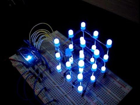 Cubo de LED 3X3X3 - Passo a Passo