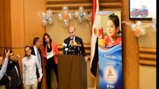 مهاب مميش : العاملون بمستشفى سرطان الأطفال 57357 أبطال