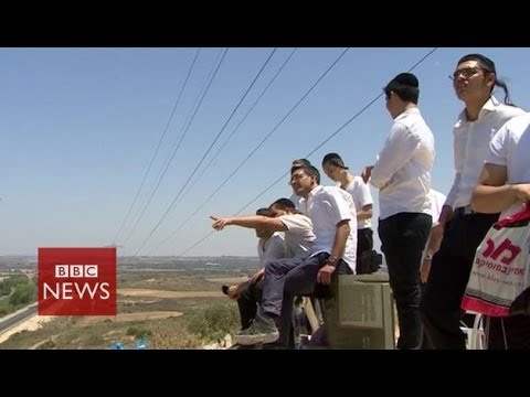 Where are Palestinian rockets being fired towards? BBC News