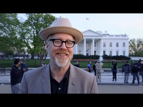 Adam Savage Visits the White House Science Fair!