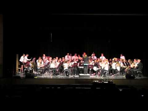 WPHS Concert Band - Sailing Songs - Elliot Del Borgo