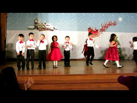 Milpitas Montessori School Christmas program 12/20/12