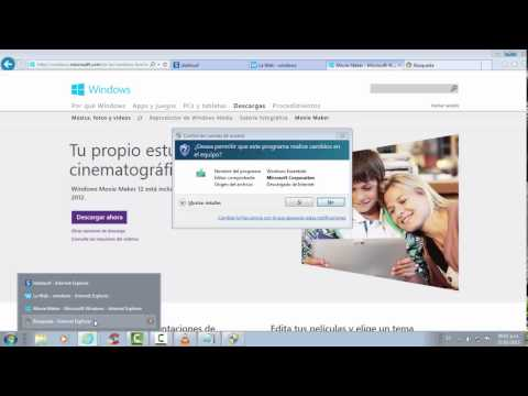 Como Descargar Windows Movie Maker 7.0 para Windows 7
