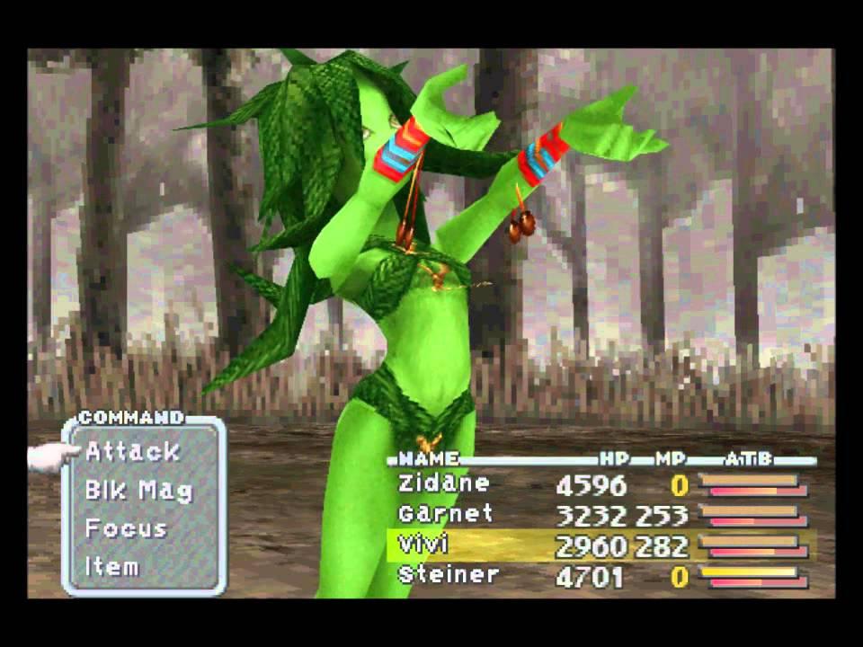 Final Fantasy IX Spirits of Gaia Sidequest, Friendly Monster ...