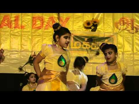 mukunda mukunda krishna dance