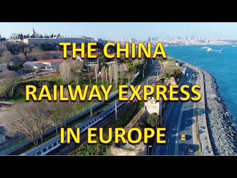The China Railway Express Crossed to Europe Using Istanbul's Sub-sea tunnel, Marmaray. The Silk Road