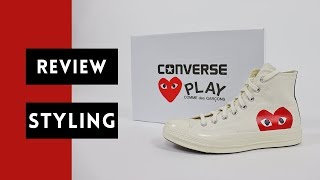Comme Des Garcons Converse Review | How to Style