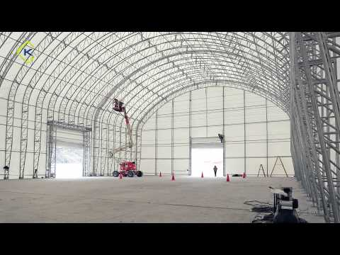 Kroftman fabric buildings for the mining industry