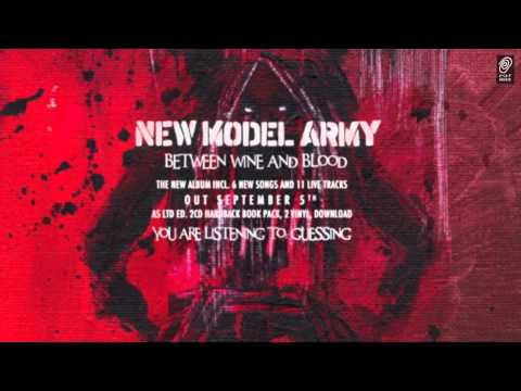 New Model Army guessing Official Audio Stream video