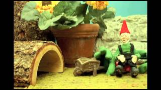 Cute and Funny Stop Motion - Project Walkway Gnome Edition - Teaser Trailer (Uncut)