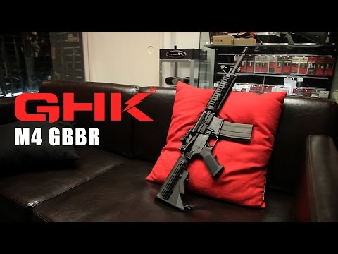 SNEAK PREVIEW: GHK M4 GBBR - RedWolf Airsoft RWTV