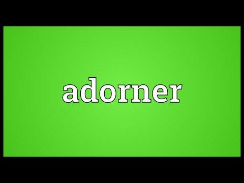 Header of Adorner