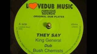 King General - They Say - With Version - 10 Inch Record - DJ APR