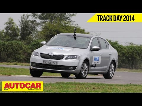 Autocar Trackday 2014 With Narain Karthikeyan | Skoda Octavia | Autocar India