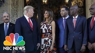 Trump Meets With Caribbean Leaders At Mar-A-Lago | NBC News