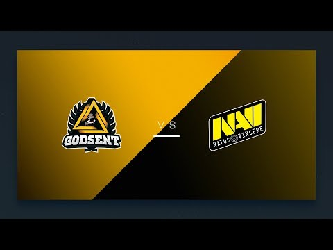 CS:GO - GODSENT vs. Na'Vi [Cbble] Map 2 - EU Day 23 - ESL Pro League Season 6