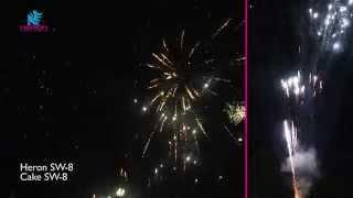 Heron Fireworks - SW-8 - Vuurwerk - Silvester Feuerwerk
