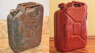 Restoration Old Jerrycan