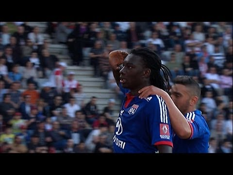 But Bafetimbi GOMIS (89') - AS Nancy-Lorraine - Olympique Lyonnais (0-3) / 2012-13