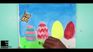 Painting Classes in Secunderabad at The Art Academy | Easter Painting 2019