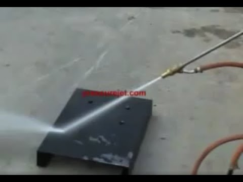 Wet Sandblasting - Water Sandblasting -  PressureJet