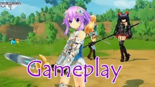 Four Goddesses Online: Cyber Dimension Neptunia - PS4 Gameplay Demo