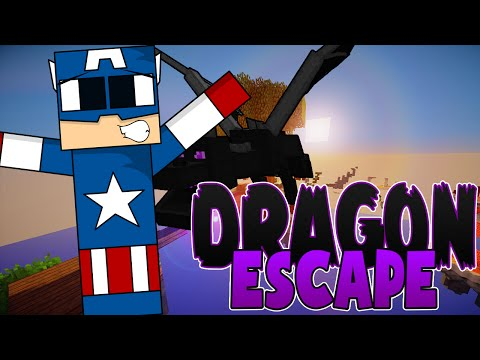 DRAGON ESCAPE | CORRE HIIPO QUE TE PILLA FERMIN | MINECRAFT