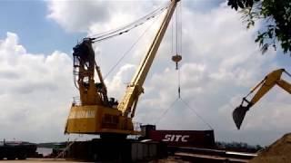 Tập đoàn Quang Trung đưa vào vận hành Cẩu Điện 70 tấn - Cảng Bạch Đằng Hải Phòng