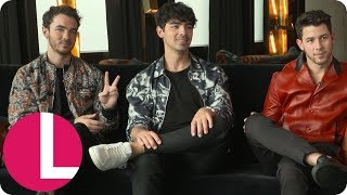 Jonas Brothers on Reuniting, Married Life and Taylor Swift's Apology | Lorraine