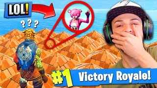 THE *SECRET* HIDING SPOT in Fortnite: Battle Royale! (TROLLING)