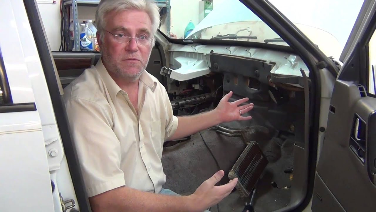 Heater Core Replacement 94 Jeep Grand Cherokee - YouTube