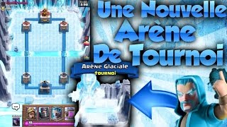 Clash Royale | NOUVELLE ARENE DE GLACE TOURNOI / NEW TOURNAMENT ARENA