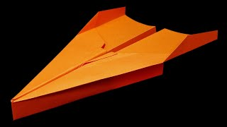 How to make a Paper Airplane that FLIES 100 FEET - BEST paper planes in the world | Teresa