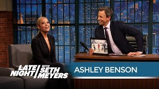 Ashley Benson's Craziest Pretty Little Liars Fan Encounter - Late Night with Seth Meyers