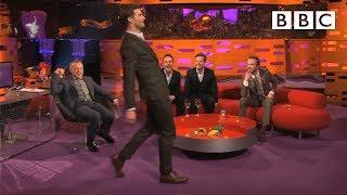 Download Lagu Jamie Dornan's funny walk - The Graham Norton Show: Series 14 Episode 18 Preview - BBC One Gratis STAFABAND