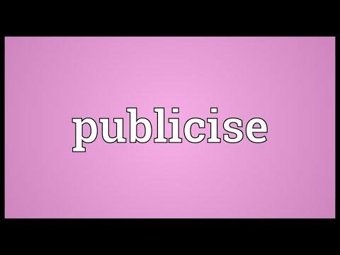 Header of publicise
