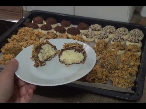 Misir Gevrekli Bol Çikolatali Kurabiye Tarifi Videosu