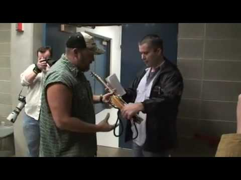 Presenting Larry The Cable Guy With One Of My Cigar Box Guitars video