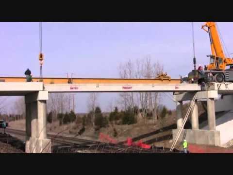 Method Of Construction Beam Girder Bridge Youtube