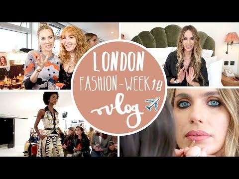 Vlog Fashion week Londres - Vanesa Romero TV