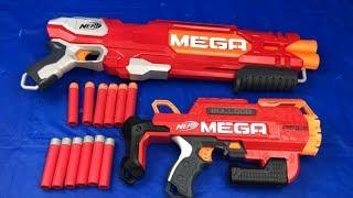 Nerf Mega Double Breach Nerf Mega Bulldog Toy Guns