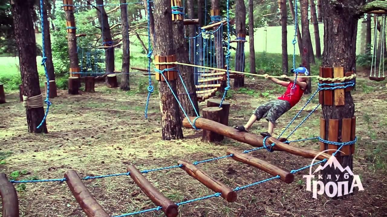 Как сделать веревочный парк своими руками 22