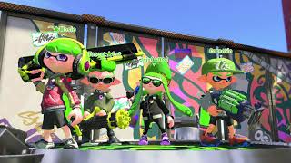 Splatoon 2: Reaching Rank X for the first time (Rainmaker) ~ 2018-05-08