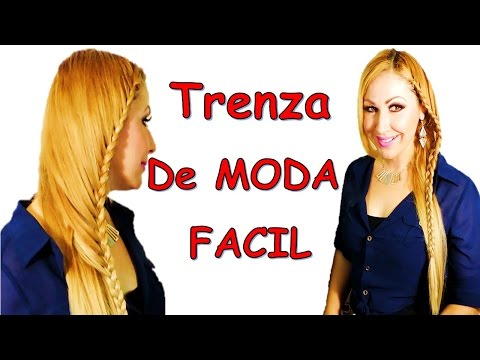 Trenza de Moda Fácil y rápido Easy Braid Tutorial