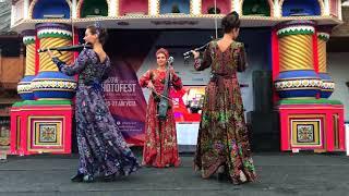 Русское народное струнное трио  Измайловский кремль стиль a la russie а ля рус от Алексея
