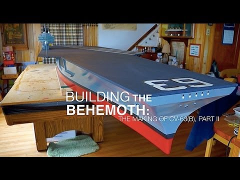 Making a 13-foot R/C Aircraft Carrier from Scratch -